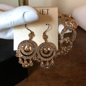 Monet chandelier earrings.